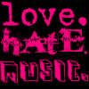 love hate music