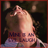 hiyacynth: SPN: Sam: Evil laugh by me