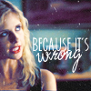 Buffy coz it's wrong
