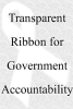 transparent ribbon for government accoun