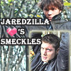 Jaredzilla <3 Smeckles