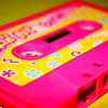 pink cassette