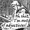 Default, Adjectives, Writing