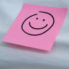 Steph: Misc - Smiley post-it