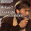 Artoo, fire ze missiles!