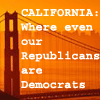 California politics quote
