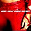 "elektra / ""you look good in red"""