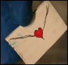 Sister Mary Loquacious: Envelope Heart