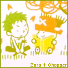 R'oxymora: [One Piece] Zoro + Chopper