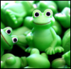 fun, green, frog, hello