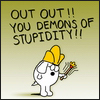 woo, stupidity, rants, Dobert Demons of Stupidity, religion