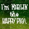 Blackadder - Merlin the Happy Pig
