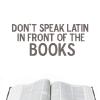don't speak latin icon (entrenous88)