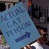 Travis: Actual Gay>