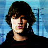 Sam Winchester (played by Dréa) posting in Cutting the Heart Asunder