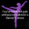 painful dance