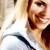 Rose Tyler: happy laugh