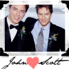Shipping John Barrowman and his husband Scott Gill