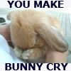 germankitty: emo bunny cries