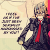 The Queen of Lame and Typo Errors.: kiryuu zero; chairman is a perv