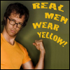 Freckled Satan High Priestess: Real Men Wear Yellow