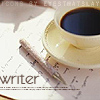 Carrie Leigh: writer coffee