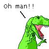 T Rex - Oh man!