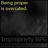 Impropriety (dark)