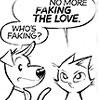 faking it, love