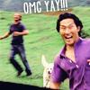 rachel: (lost) jin omg yay!