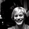tres gracious: bsg // kara b&w grin