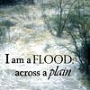 flood across a plain