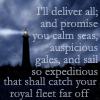 I'll deliver all