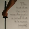 pay the price