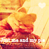 Garfield-Just me and my pie