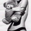 девча с медведем