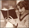 flapper with book