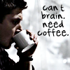SPN: Dean - Brain Need Coffee