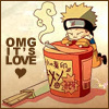 firestarhiei: Naruto and Ramen = Love