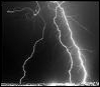 lightning nasa blackandwhite