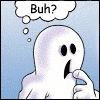 ghostie confused