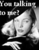 Silver Screen - Bacall