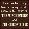 Caroline: Winchesters Bible