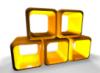 желтые кубики