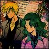 Haruka & Michiru - partners