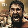 300 Leonidas D: D face!