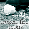 Frozen Fire Icons