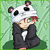 панда(игривое)