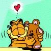 The NewroticGirl: Garfield bear hug