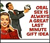 Oral Sex: Great gift